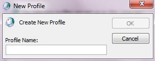 create new profile