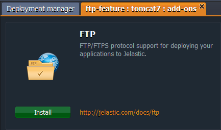 install ftp