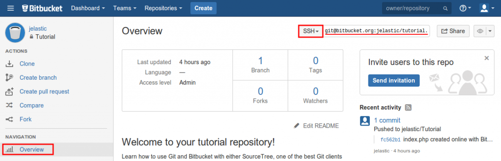 bitbucket overview