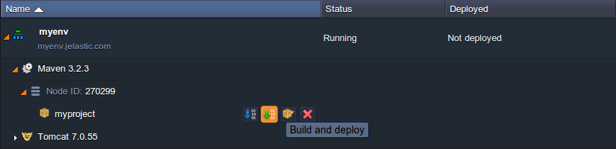 build and deploy