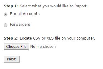 email address importer