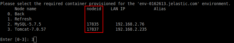 node ID